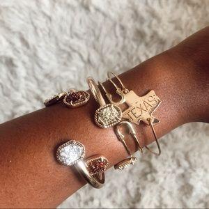 Karis' Kloset Jewelry - Fav Gold Stackable bracelets